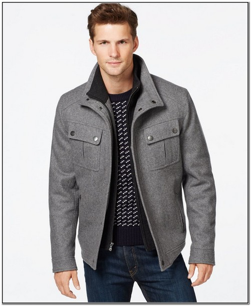 Macys Mens Jackets Wool