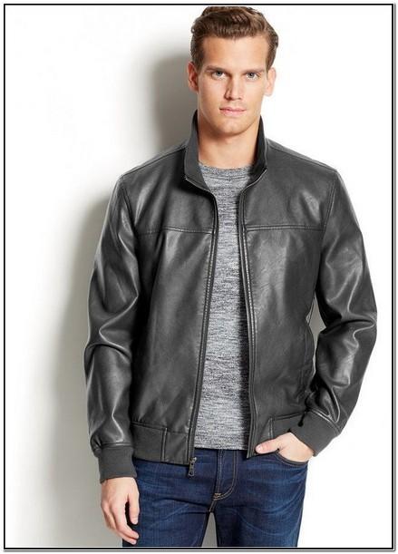 Macys Mens Leather Bomber Jackets