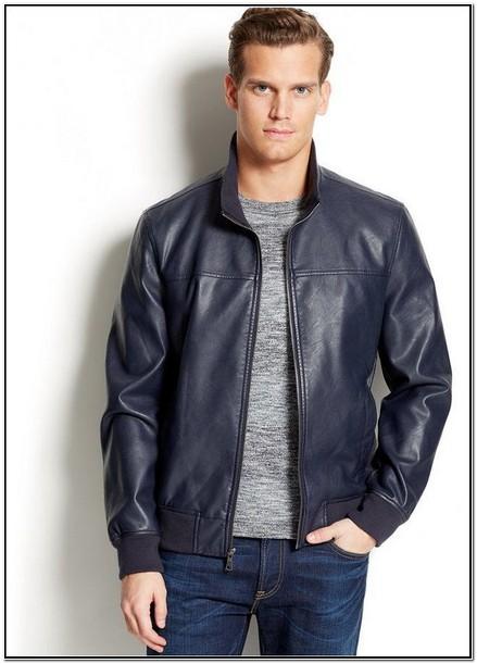 Macys Mens Leather Jackets