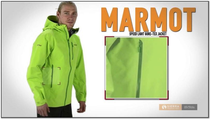 Marmot Speed Light Gore Tex Rain Jacket Mens