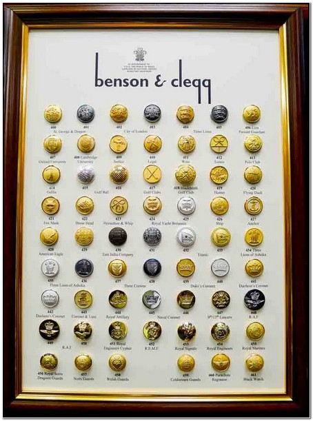 Masonic Jacket Buttons