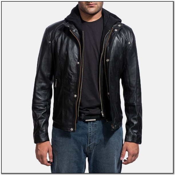 Mens Black Leather Jackets On Sale