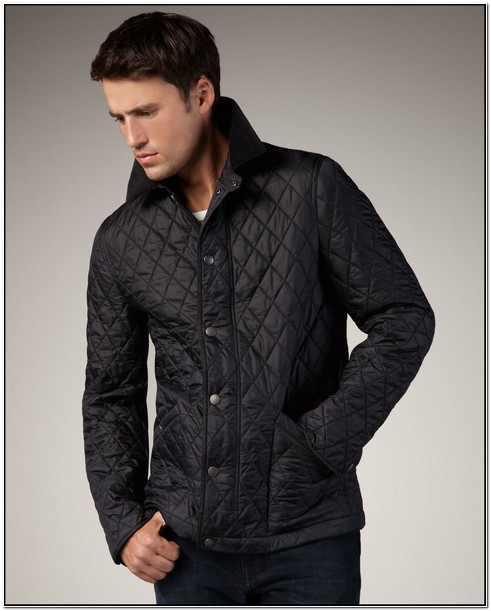 Mens Burberry Brit Quilted Jacket