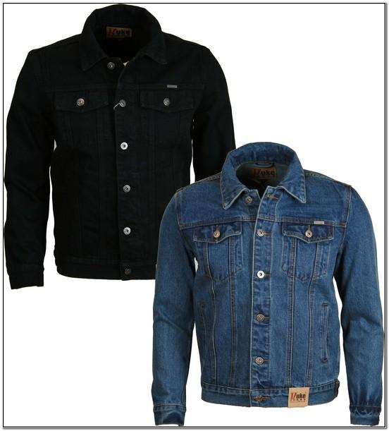 Mens Denim Jacket With Fur Collar Ebay
