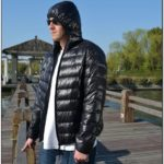 Mens Down Puffer Jacket With Hood