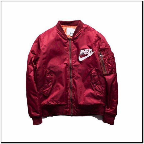 Mens Nike Japanese Bomber Jacket