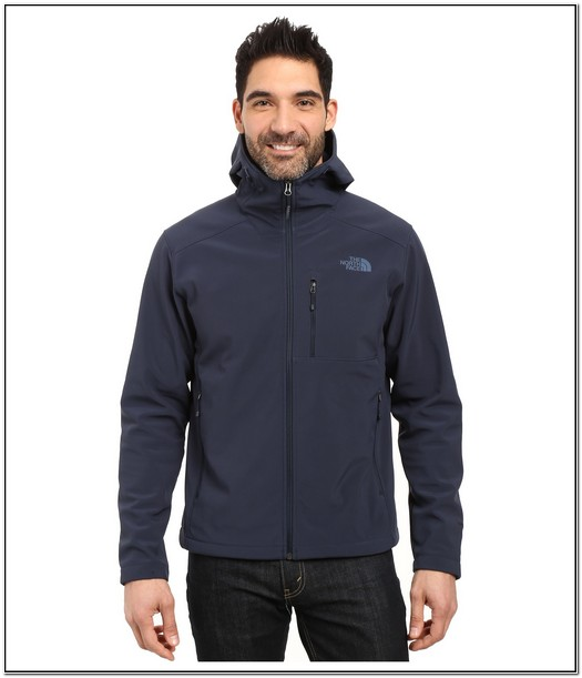Mens North Face Apex Bionic Jacket With Hood