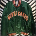 Miami Hurricanes Starter Jacket Satin