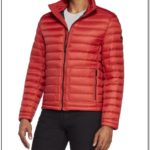 Michael Kors Mens Packable Down Jacket