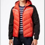 Michael Kors Mens Raymond Packable Down Jacket