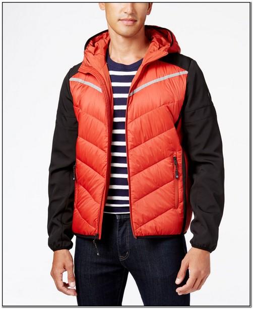 Michael Kors Mens Raymond Packable Down Jacket