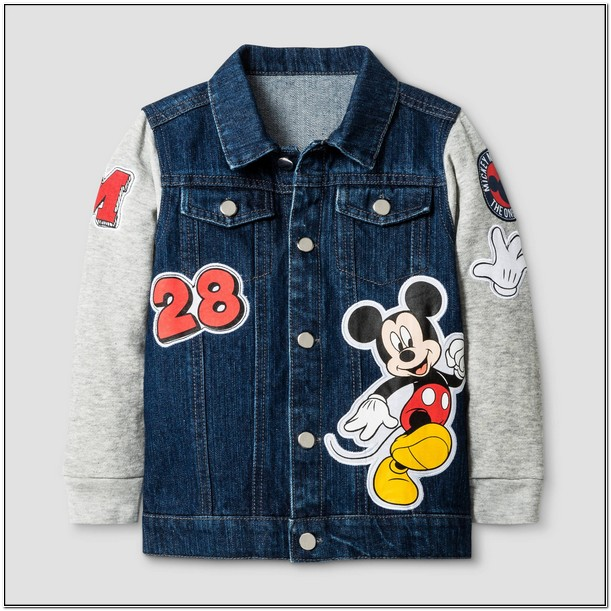 Mickey Mouse Denim Jacket For Toddlers