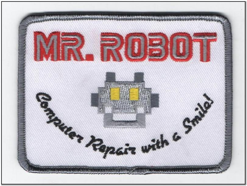 Mr Robot Jacket Patch