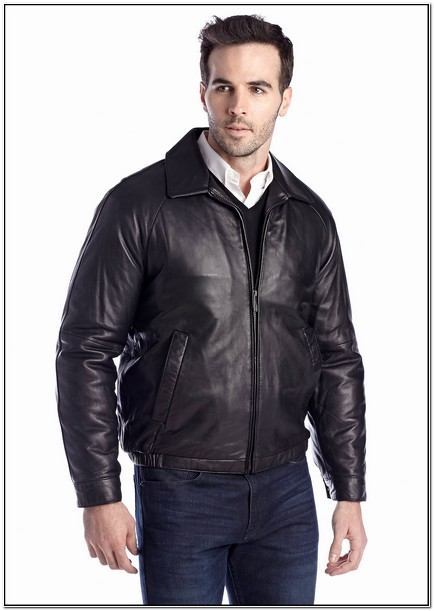 Nautica Mens Leather Jackets