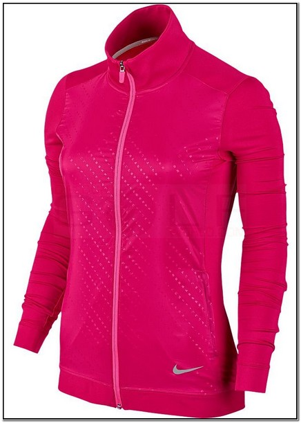 Nike Dri Fit Jacket Womens Full Zip