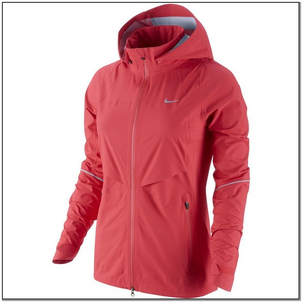 Nike Womens Rain Jacket With Hood