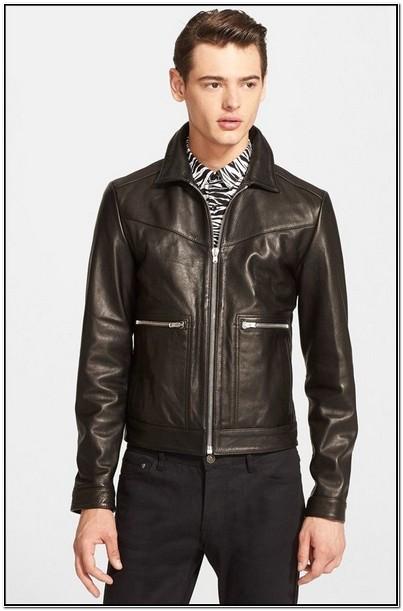 Nordstrom Mens Jacket Leather