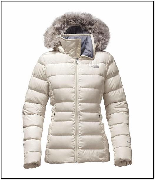 North Face Gotham Jacket Womens White