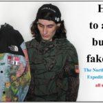 North Face Supreme Map Jacket Fake