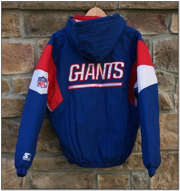 Ny Giants Starter Pullover Jacket