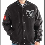 Oakland Raiders Womens Varsity Jacket