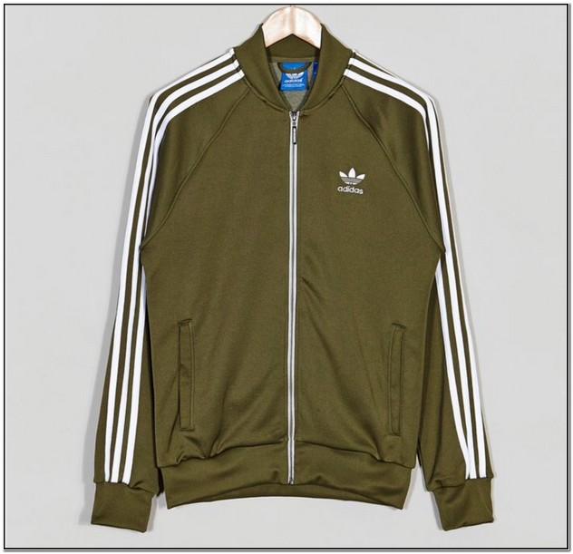 Olive Green Adidas Jacket