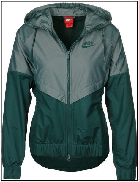 Olive Green Nike Track Jacket