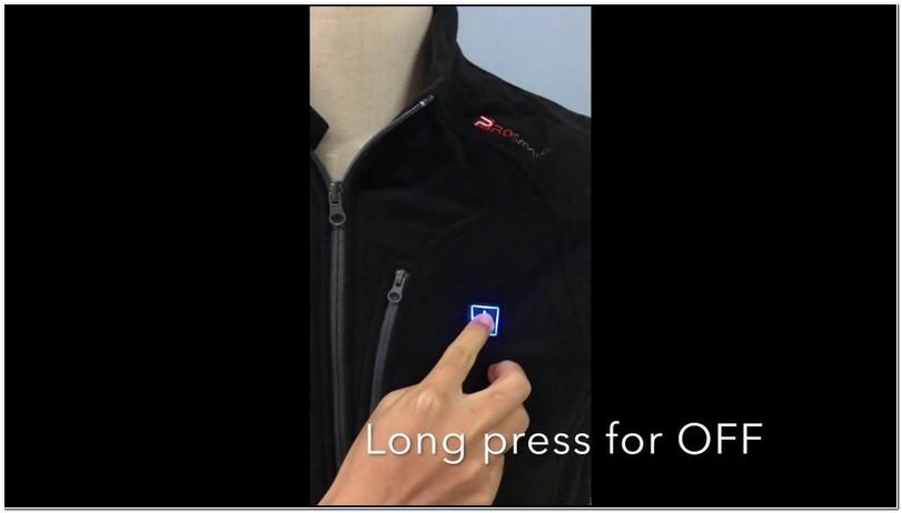 Ororo Heated Jacket Instructions