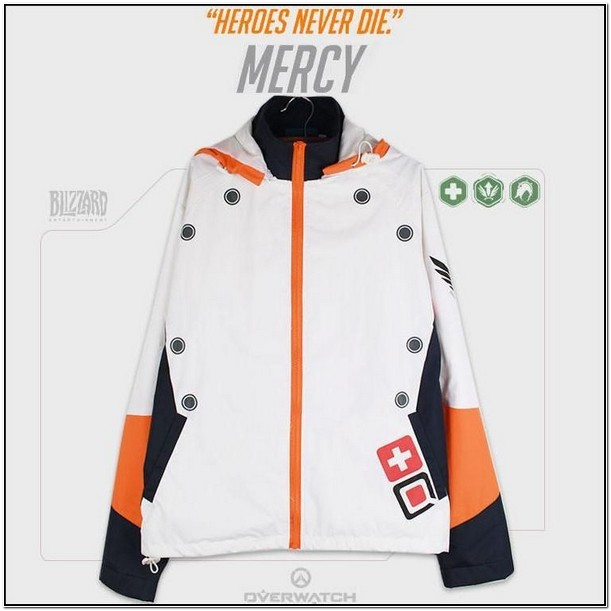 Overwatch Hooded Jacket Mercy