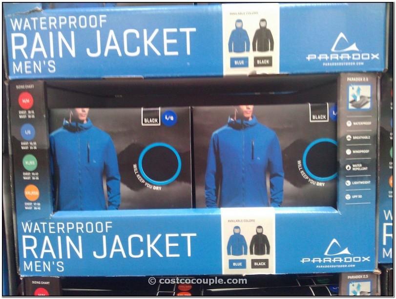 Paradox Rain Jacket Costco