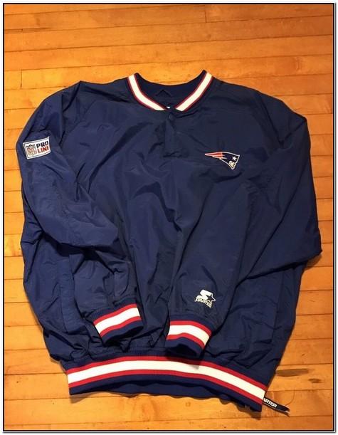 Patriots Starter Pullover Jacket