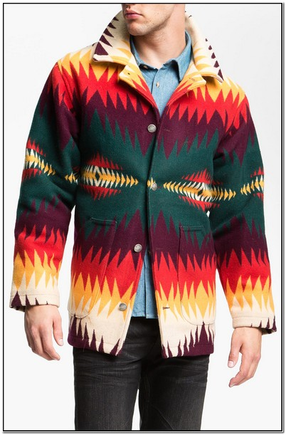 Pendleton Navajo Jacket Mens