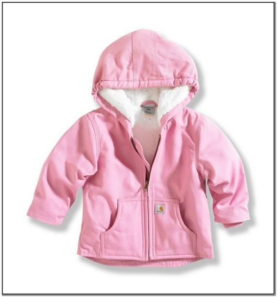Pink Carhartt Jacket Toddler