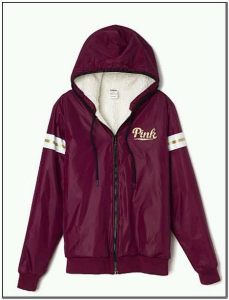 Pink Victoria Secret Sherpa Jacket