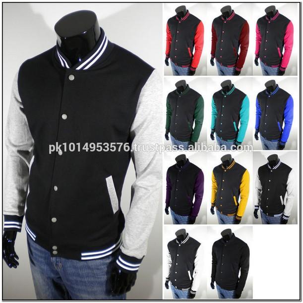Plain Varsity Jackets Wholesale