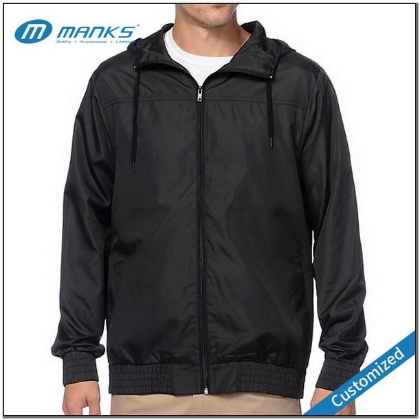 Plain Windbreaker Jacket