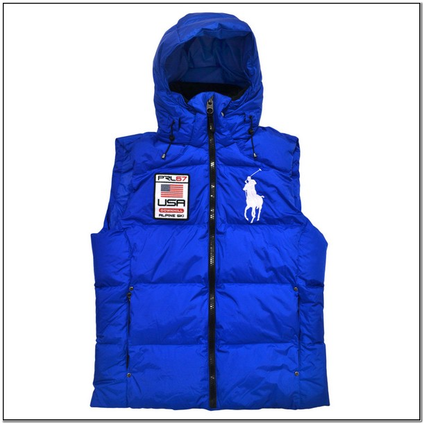 Polo Vest Jacket With Hood