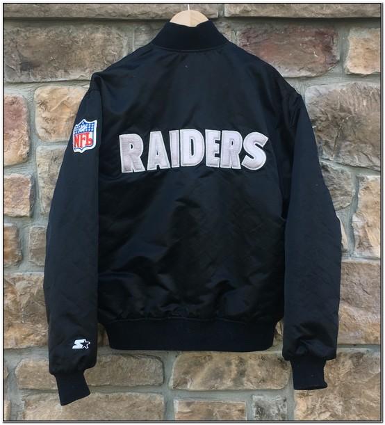 Raiders Bomber Jacket Starter