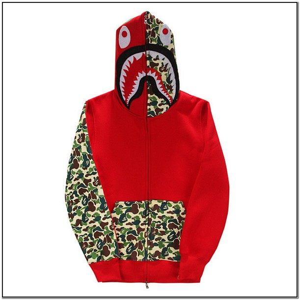 Red Bape Jacket Price