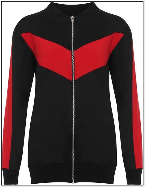 Red Bomber Jacket Womens Ebay