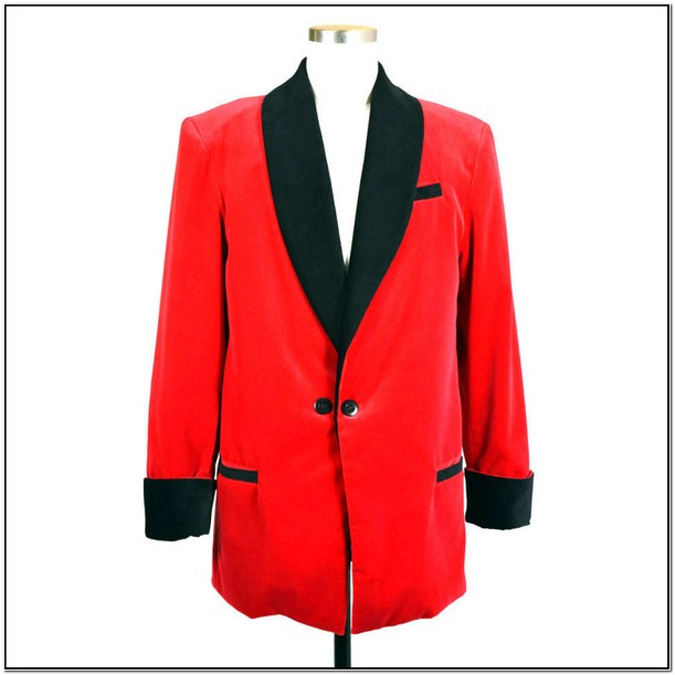 Red Smokers Jacket