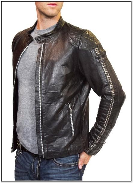 Robin Jeans Jacket Leather