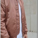 Rose Gold Bomber Jacket Mens