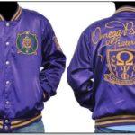 Satin Omega Psi Phi Jacket