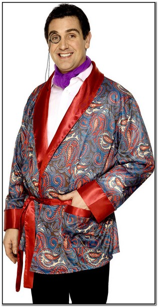 Smoking Jacket Fancy Dress