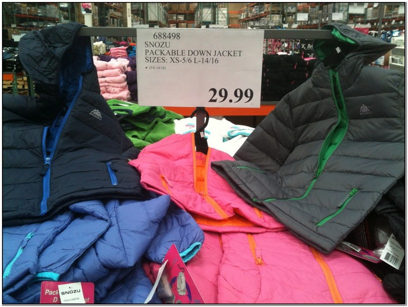 Snozu Jackets Toddler Costco