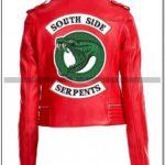 Southside Serpent Jacket Red