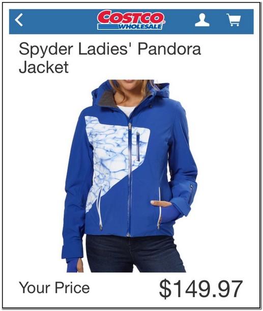 Spyder Pandora Jacket Costco