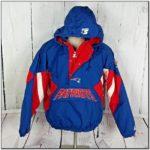 Starter Jackets 90s Pullover Patriots