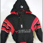 Starter Pullover Jackets Bulls